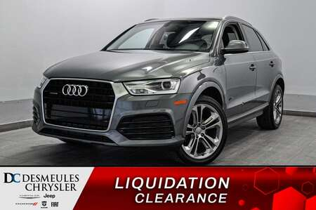 2018 Audi Q3 2.0T Progressiv * TOIT PANO * SIEGES CHAUFFANTS * for Sale  - DC-S2181  - Blainville Chrysler