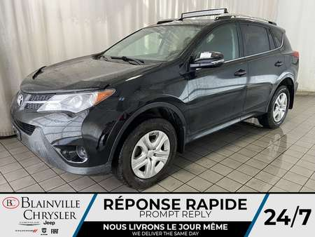 2014 Toyota Rav4 LE * CAM RECUL * BLUETOOTH * A/C * CRUISE for Sale  - BC-C1675  - Desmeules Chrysler