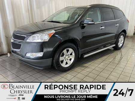 2012 Chevrolet Traverse 1LT * 8 PASSAGER * CAM RECUL 8 BLUETOOTH * A/C for Sale  - BC-P1618A  - Blainville Chrysler