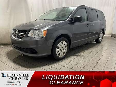 2016 Dodge Grand Caravan SXT * STOW'N'GO * A/C * ECONOMIQUE for Sale  - BC-D1811  - Blainville Chrysler