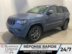 2021 Jeep Grand Cherokee 80e ANNIVERSAIRE * TOIT PANO * CUIR VENTILLÉ *  - BC-21363  - Blainville Chrysler