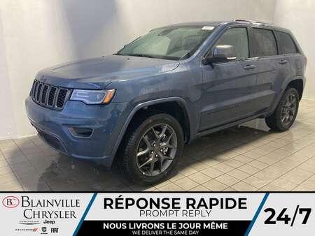 2021 Jeep Grand Cherokee 80e ANNIVERSAIRE * TOIT PANO * CUIR VENTILLÉ * for Sale  - BC-21363  - Blainville Chrysler
