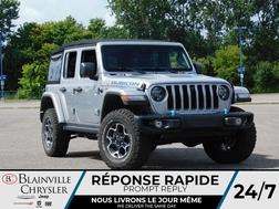 2021 Jeep Wrangler 4xe UNLIMITED RUBICON 4XE *  CUIR * 2 TOITS * HYBRIDE  - BC-21616  - Blainville Chrysler