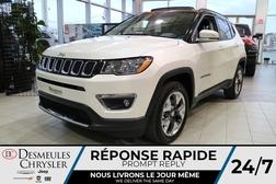2021 Jeep Compass Limited 4X4 * UCONNECT * TOIT OUVRANT * CUIR *  - DC-C48034381  - Desmeules Chrysler