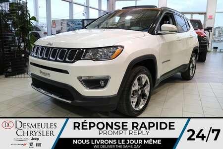 2021 Jeep Compass Limited 4X4 * UCONNECT * TOIT OUVRANT * CUIR * for Sale  - DC-C48034381  - Desmeules Chrysler