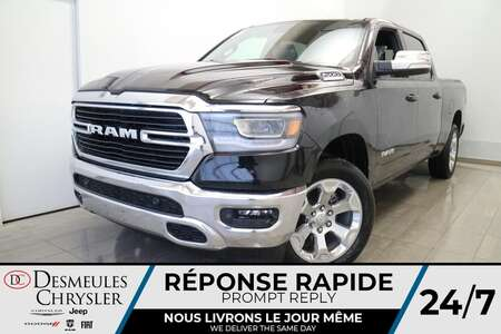 2021 Ram 1500 Crew Cab BIG HORN 4X4 * UCONNECT 8.4 PO * CAM * for Sale  - DC-21384  - Desmeules Chrysler