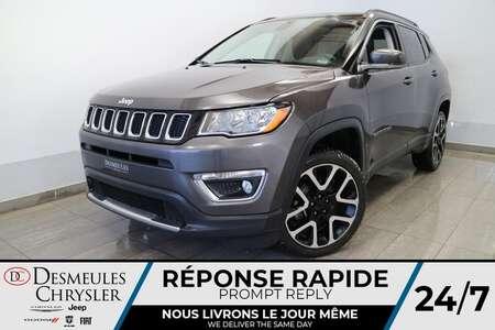 2018 Jeep Compass Limited 4X4 * NAVIGATION * TOIT OUVRANT * CUIR * for Sale  - DC-21332A  - Blainville Chrysler