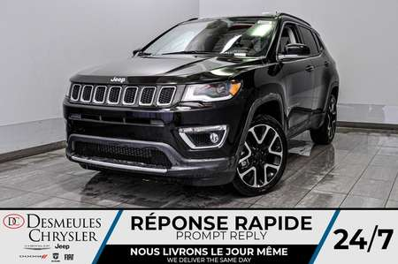2020 Jeep Compass Limited + BANCS CHAUFF + UCONNECT *109$/SEM for Sale  - DC-20406  - Desmeules Chrysler