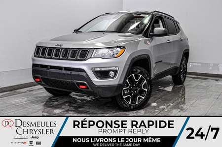 2020 Jeep Compass Trailhawk + UCONNECT + BANCS CHAUFF *102$/SEM for Sale  - DC-20408  - Desmeules Chrysler
