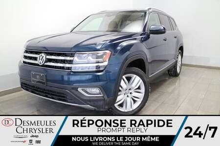 2018 Volkswagen Atlas 3.6L V6 EXECLINE * NAV * TOIT PANO * CUIR * HITCH* for Sale  - DC-S2443  - Blainville Chrysler