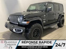2021 Jeep Wrangler Sahara UNLIMITED *DEL* DEUX TOITS* REMORQUE*  - BC-21015  - Blainville Chrysler