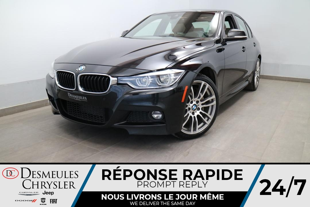 2017 BMW 3 Series  - Desmeules Chrysler