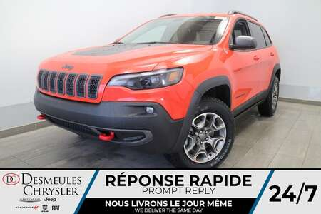 2021 Jeep Cherokee Trailhawk 4X4 * NAVIGATION * UCONNECT 8.4 POUCES * for Sale  - DC-21415  - Desmeules Chrysler