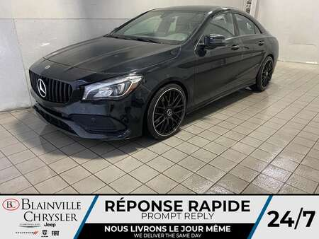 2018 Mercedes-Benz CLA CLA 250 *4MATIC * NAVIGATION * BLACK PACK * MAGS * for Sale  - BC-21528A  - Blainville Chrysler