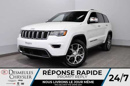 2019 Jeep Grand Cherokee Limited  + BANCS CHAUFF + UCONNECT DÉMONSTRATEUR for Sale  - DC-90411  - Blainville Chrysler