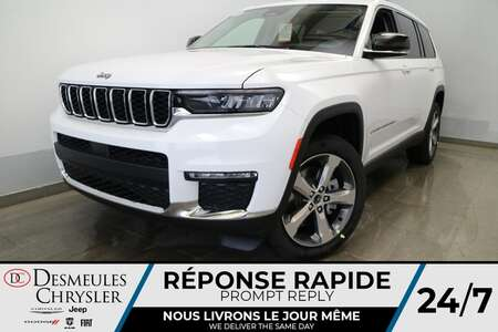 2021 Jeep Grand Cherokee L Limited 4X4 * UCONNECT 10.1 PO * NAVIGATION* CUIR for Sale  - DC-21827  - Desmeules Chrysler