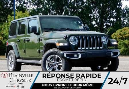 2021 Jeep Wrangler Unlimited Sahara 2L TURBO * Ens DEUX TOITS * for Sale  - BC-21687  - Desmeules Chrysler