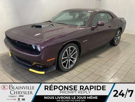 2021 Dodge Challenger R/T V8 HELL RAISIN *  CUIR & ALCANTARA * TOIT for Sale  - BC-21494  - Blainville Chrysler
