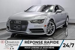 2017 Audi A7 3.0T Progressiv * S-LINE * TOIT OUVRANT * GPS *  - DC-S2243  - Desmeules Chrysler