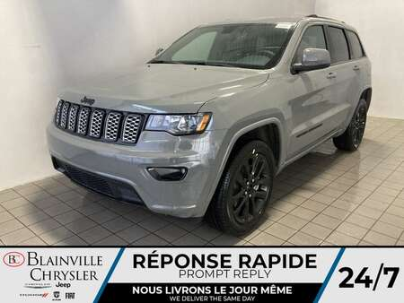 2021 Jeep Grand Cherokee ALTITUDE * Int. CUIR & SUEDE * SIEGES & VOLANT for Sale  - BC-21419  - Desmeules Chrysler