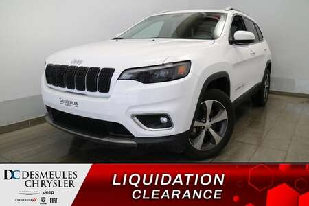 2019 Jeep Cherokee Limited * UCONNECT 8.4 PO* NAVIGATION * CUIR * CAM for Sale  - DC-90045  - Blainville Chrysler