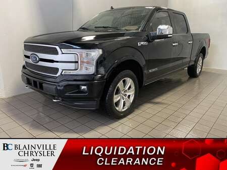2018 Ford F-150 SIEGES CHAUFFANTS/VENTILEE * TOIT PANO * GPS * for Sale  - BC-J2108  - Blainville Chrysler