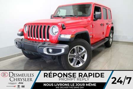2020 Jeep Wrangler Unlimited SARAHA 4X4 * NAVIGATION * UCONNECT 8.4PO for Sale  - DC-S2274A  - Desmeules Chrysler