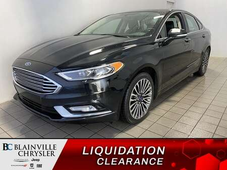 2017 Ford Fusion SE AWD * GPS * CAM RECUL * SIEGES CHAUFFANTS for Sale  - BC-21297A  - Blainville Chrysler