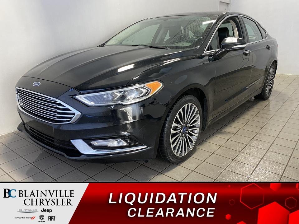 2017 Ford Fusion  - Blainville Chrysler
