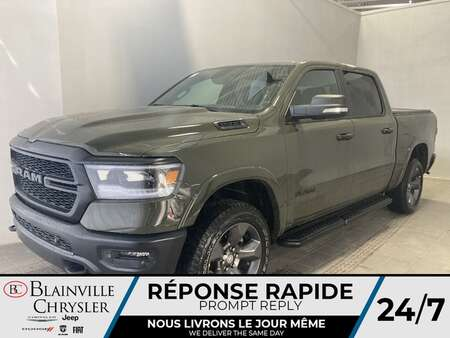 2021 Ram 1500 BUILT TO SERVE VERT TANK * Int. CUIR & TISSU * for Sale  - BC-21391  - Desmeules Chrysler