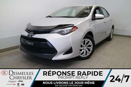 2018 Toyota Corolla LE * AUTOMATIQUE * AIR CLIMATISE * CAMERA DE RECUL for Sale  - DC-90055A  - Desmeules Chrysler