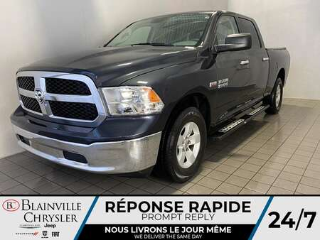 2018 Ram 1500 Crew Cab * CAM RECUL * 6 PASSAGER * BLUETOOTH for Sale  - BC-21326A  - Blainville Chrysler