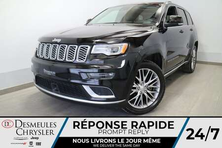2017 Jeep Grand Cherokee Summit 4X4 * NAVIGATION * TOIT OUVRANT * CUIR * for Sale  - DC-R2577  - Blainville Chrysler