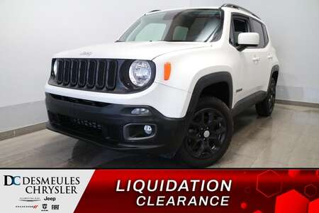 2018 Jeep Renegade NORTH AWD * UCONNECT 7 POUCES * CAMERA DE RECUL* for Sale  - DC-81174  - Desmeules Chrysler