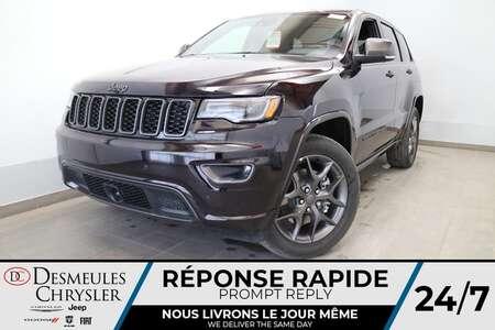 2021 Jeep Grand Cherokee 80E ANNIV AWD * UCONNECT 8.4PO * NAVIGATION * CAM for Sale  - DC-J21043  - Blainville Chrysler