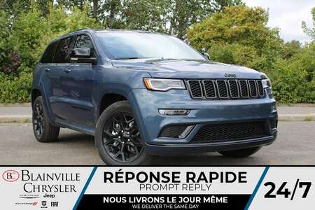 2021 Jeep Grand Cherokee LIMITED X * TOIT PANO * GPS * CUIR CHAUFFANT * for Sale  - BC-21733  - Blainville Chrysler