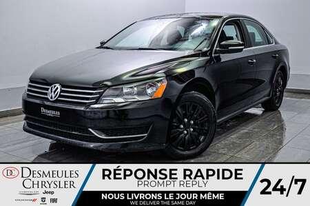 2015 Volkswagen Passat 1.8T * SIEGES CHAUFFANTS * CAM RECUL * BLUETOOTH for Sale  - DC-S2256  - Blainville Chrysler