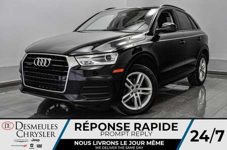 2016 Audi Q3 2.0T Komfort * TOIT PANORAMIQUE * BLUETOOTH for Sale  - DC-S2229  - Desmeules Chrysler