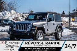 2020 Jeep Wrangler Sport S  - BC-20020  - Desmeules Chrysler