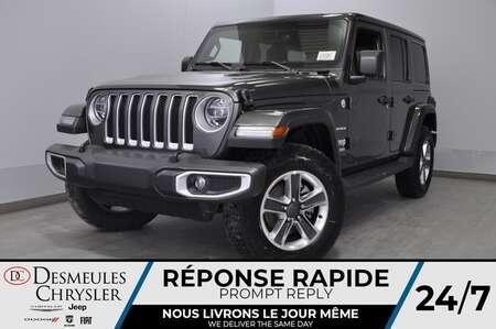 2020 Jeep Wrangler Unlimited Sahara+ UCONNECT + BANCS CHAUFF*143$/SEM for Sale  - DC-20105  - Desmeules Chrysler