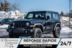 2020 Jeep Wrangler Sport *  - BC-20017  - Blainville Chrysler