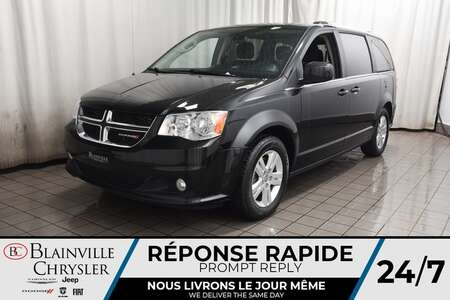 2019 Dodge Grand Caravan CREW * STOW'N'GO * BLUETOOTH * CRUISE * MAGS * for Sale  - BC-P1826  - Desmeules Chrysler