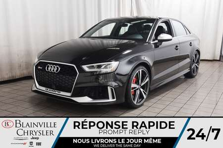 2018 Audi RS 3 CUIR * NAVIGATION * CAM RECUL * BLUETOOTH * for Sale  - BC-S1832  - Blainville Chrysler