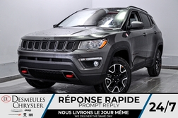 2021 Jeep Compass Trailhawk * SIEGES ET VOLANT CHAUFFANTS * WIFI  - DC-21096  - Desmeules Chrysler