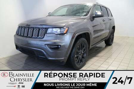 2021 Jeep Grand Cherokee ALTITUDE * Int. CUIR & SUEDE * SIEGES & VOLANT for Sale  - BC-21308  - Desmeules Chrysler