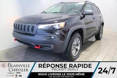 2021 Jeep Cherokee Trailhawk ELITE * CUIR VENTILÉ * for Sale  - BC-21243  - Desmeules Chrysler