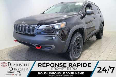 2021 Jeep Cherokee Trailhawk * Int. CUIR & TISSU SPORT * TOIT for Sale  - BC-21310  - Blainville Chrysler