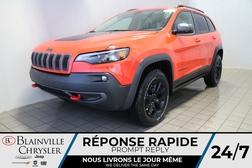 2021 Jeep Cherokee Trailhawk * Int. CUIR & TISSU SPORT *  - BC-21131  - Desmeules Chrysler