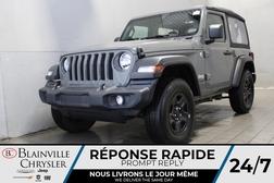 2019 Jeep Wrangler SPORT * TOIT SOUPLE * CAMERA DE RECUL * BAS KMS *  - BC-R2364  - Desmeules Chrysler