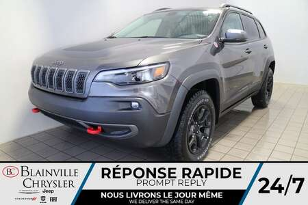 2021 Jeep Cherokee Trailhawk * Int. CUIR & TISSU SPORT * for Sale  - BC-21233  - Blainville Chrysler